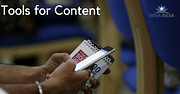 Tools for Content Marketing.
