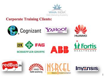 Corporate Clients - Digital Marketing - WMA