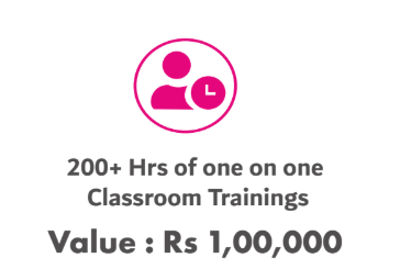 Web Marketing Academy Fees comes up more than 200 + Hrs of Training