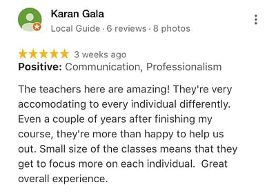 Web Marketing Academy Students Ratings and Reviews