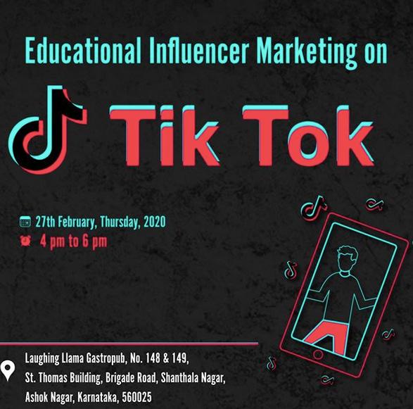 Tik Tok Trainings in Bangalore by Web Mark